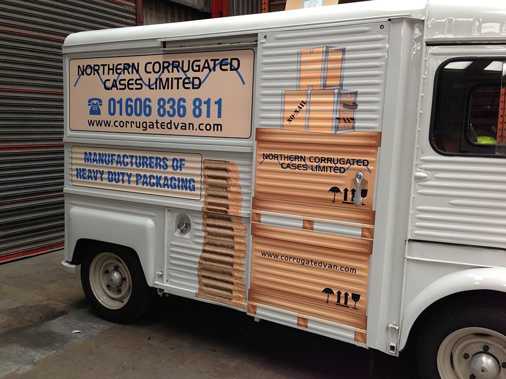 Northern Corrugated Van